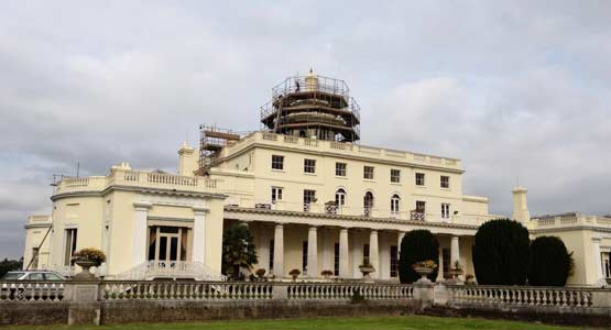 Refurbishment of the Cupola at Stoke Park Country Club Hotel